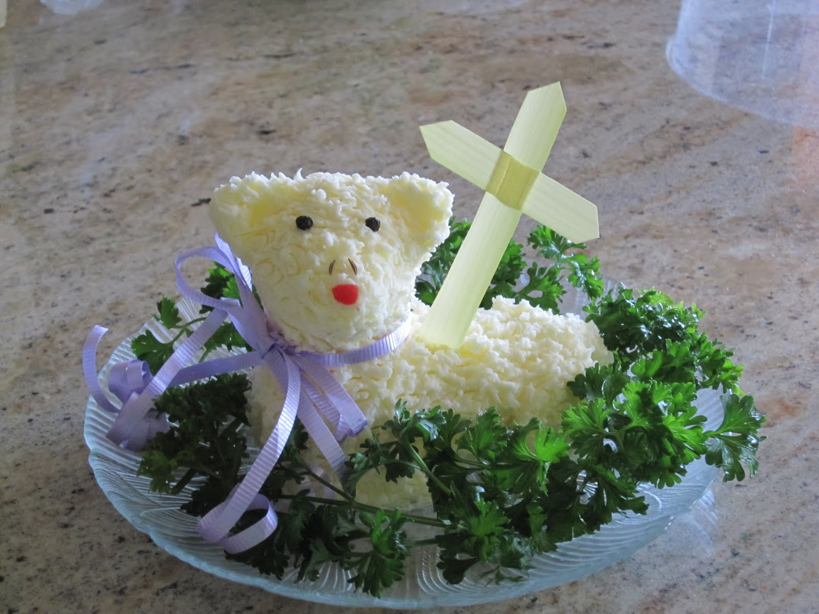 Lamb For Easter  All About Being Inspired Step by Step Easter Butter Lamb