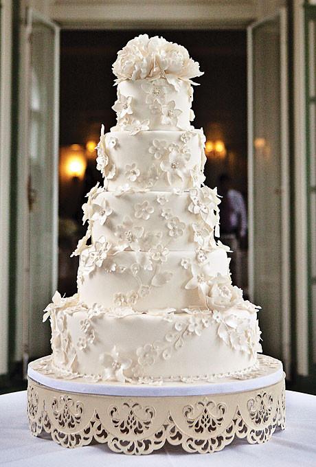 Large Wedding Cakes  Big Wedding Cakes