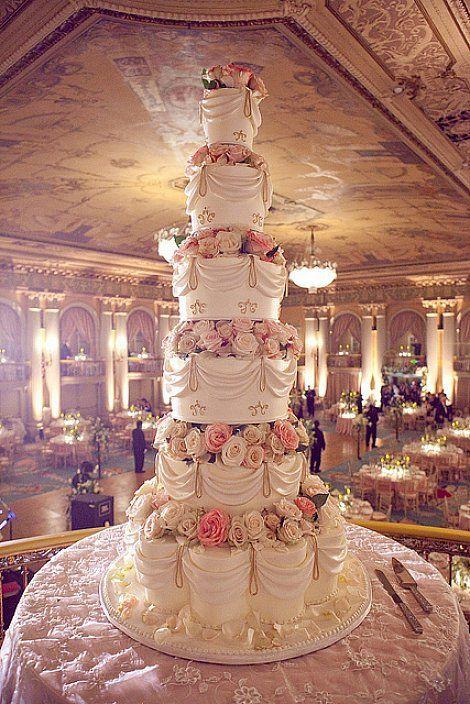 Large Wedding Cakes  Best 25 Huge Wedding Cakes ideas on Pinterest