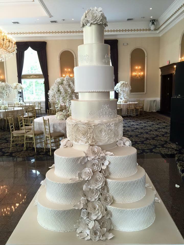 Large Wedding Cakes  Huge Wedding Cake • Palermo s Custom Cakes & Bakery
