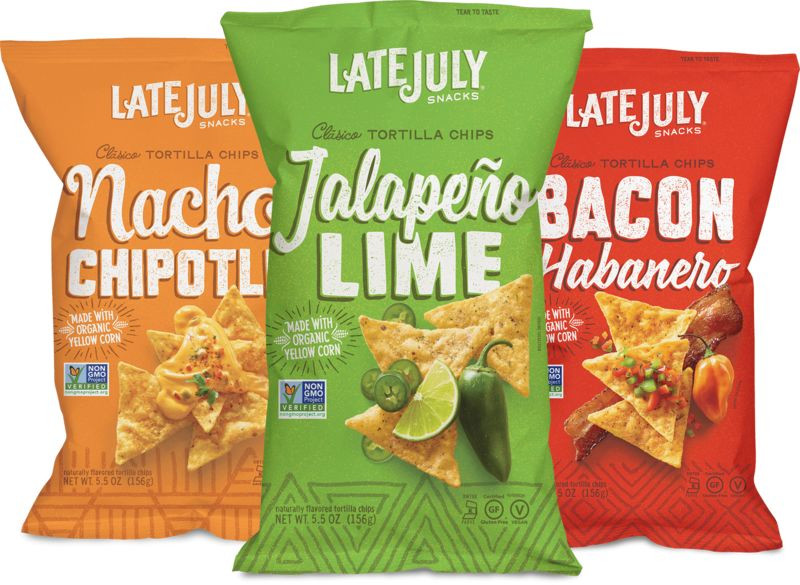 Late July Crackers  Sustainability Focused Chips late july snacks