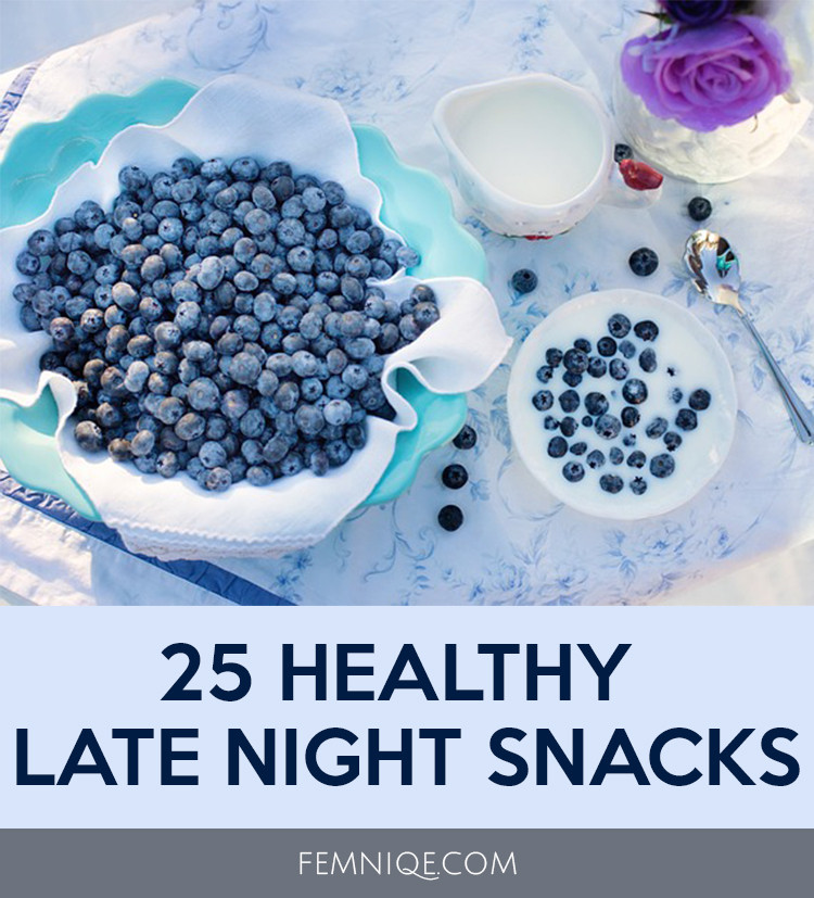 Late Night Healthy Snacks  25 Mouth Watering Healthy Late Night Snacks Femniqe