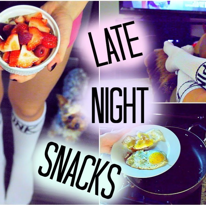 Late Night Healthy Snacks  The best healthy late night snacks