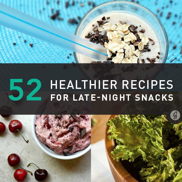 Late Night Healthy Snacks  52 Healthier Alternatives to Late Night Snacks