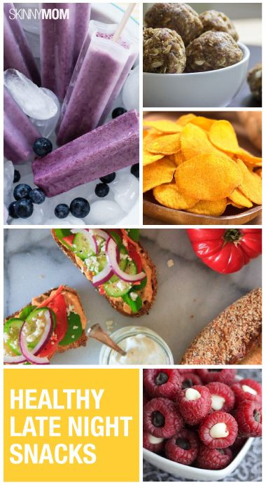 Late Night Snacks Healthy  Weight Loss Tips for Midnight Snackers