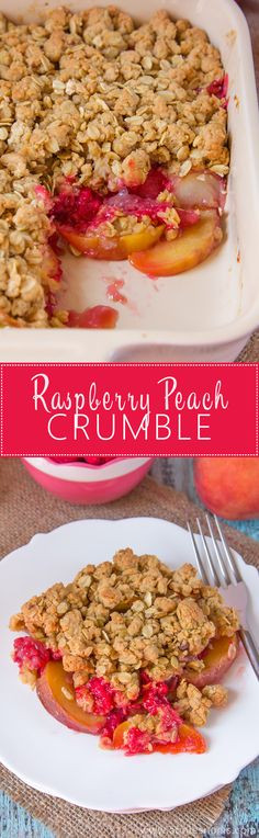 Late Summer Desserts  1000 ideas about Peach Raspberry Crisp on Pinterest