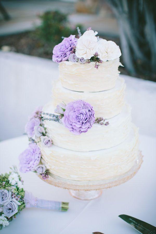 Lavender And White Wedding Cake  1134 best Lavender Theme images on Pinterest