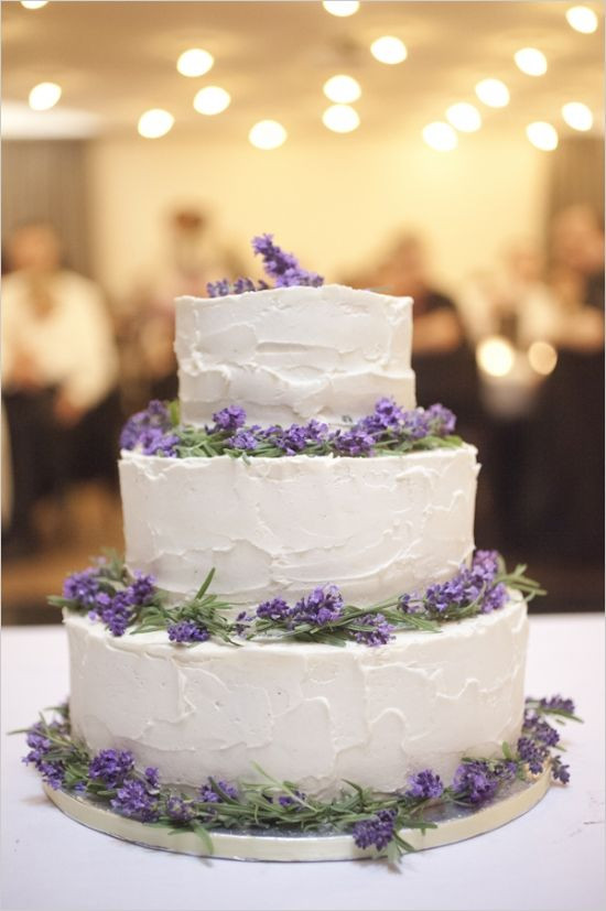 Lavender And White Wedding Cake  65 Loveliest Lavender Wedding Ideas You Will Love