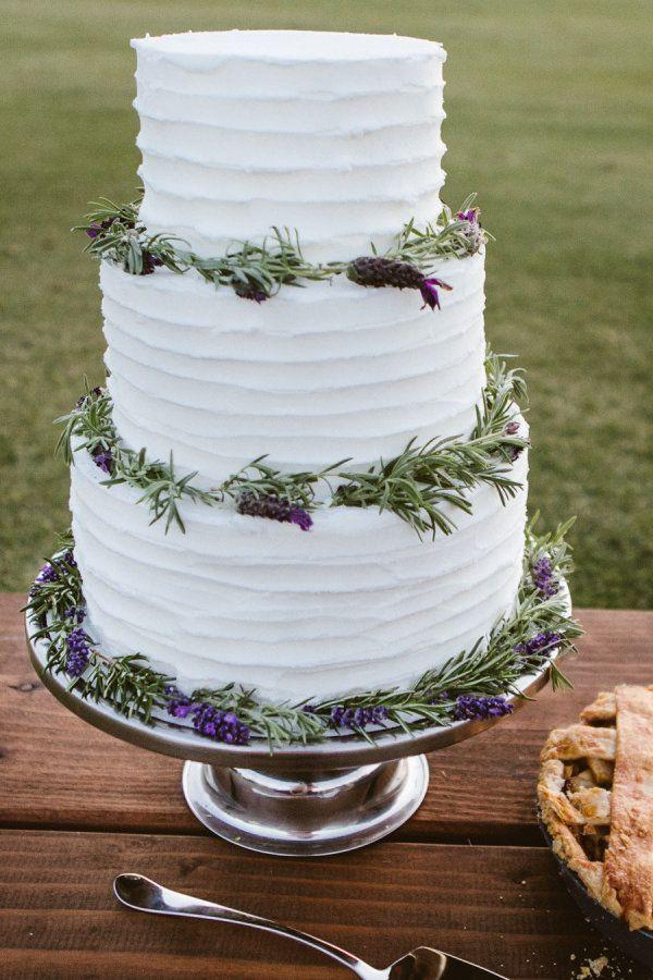 Lavender Wedding Cakes  Lavender wedding cakes Lemon lavender wedding cake