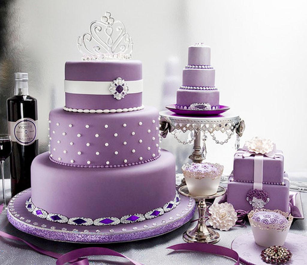 Lavender Wedding Cakes  Lavender Wedding Cakes Idea Wedding Cake Cake Ideas by