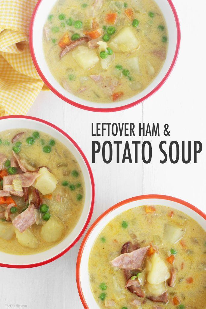 Leftover Easter Ham Recipe  Leftover Easter Ham and Potato Soup Recipe