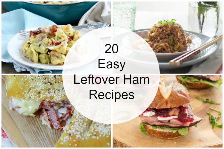 Leftover Easter Ham Recipe  20 Easy Leftover Ham Recipes Meatloaf and Melodrama