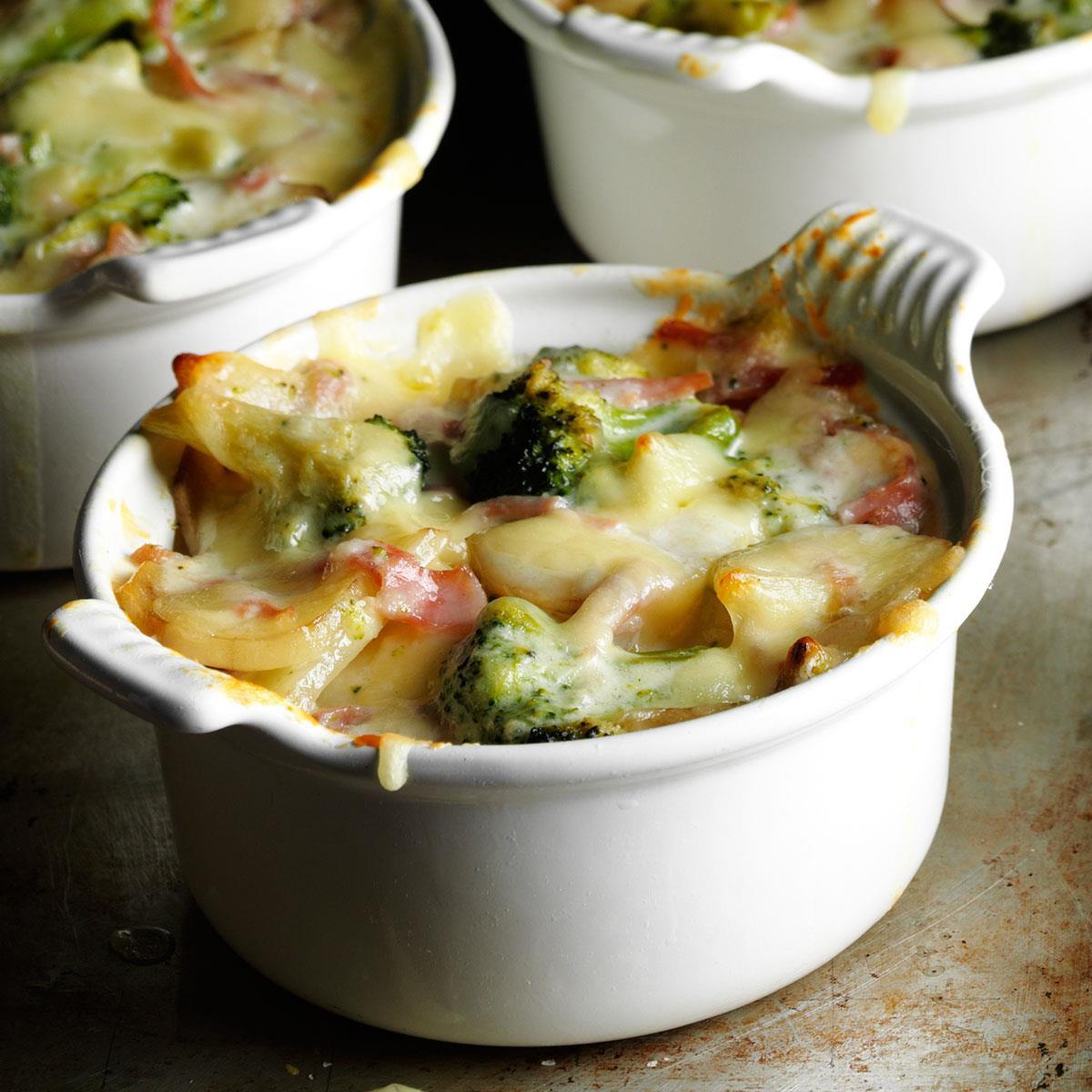 Leftover Easter Ham Recipe  Broccoli Scalloped Potatoes Recipe