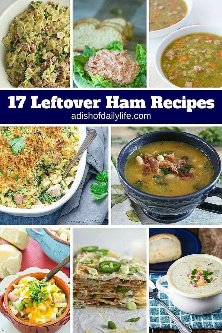 Leftover Easter Ham Recipe  17 Best images about Leftover Ham Recipes on Pinterest