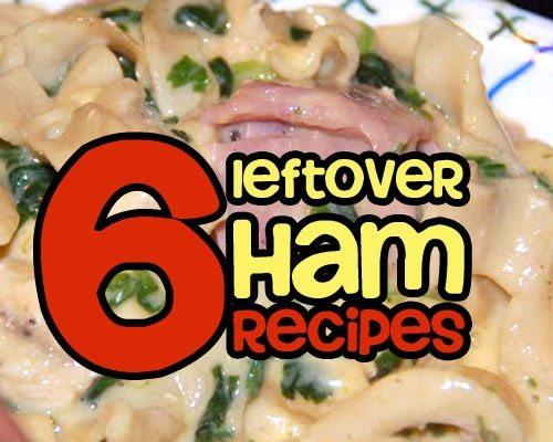Leftover Easter Ham Recipe  Leftover Ham Recipes GOODEness Gracious