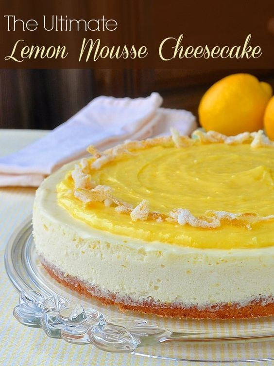 Lemon Easter Desserts  Lemon desserts are a natural for Easter Dinner The