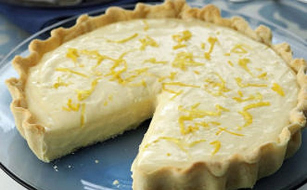 Lemon Easter Desserts  Easter desserts Creme Egg roulade goodtoknow