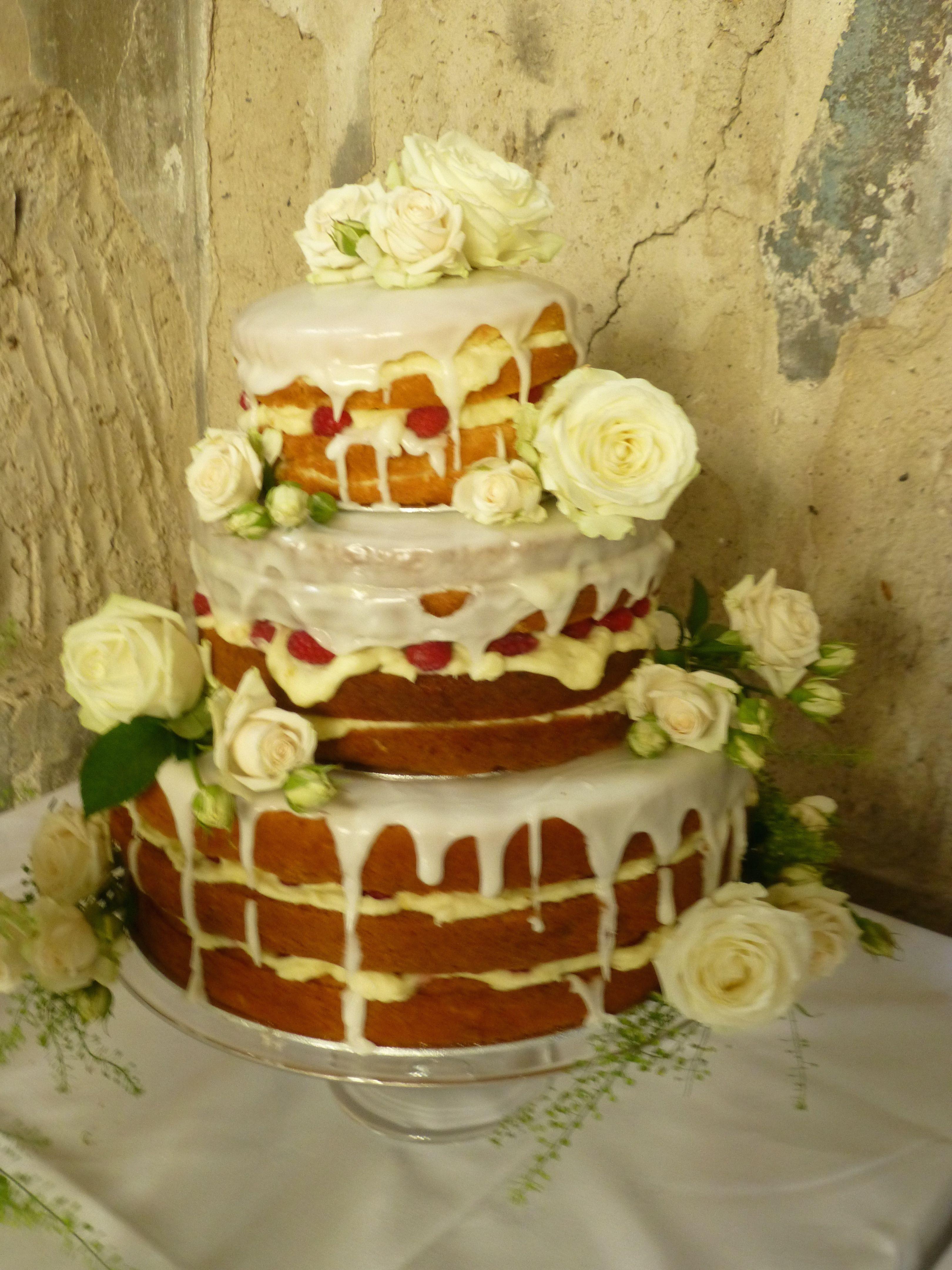 Lemon Wedding Cakes  Lemon Drizzle wedding cake