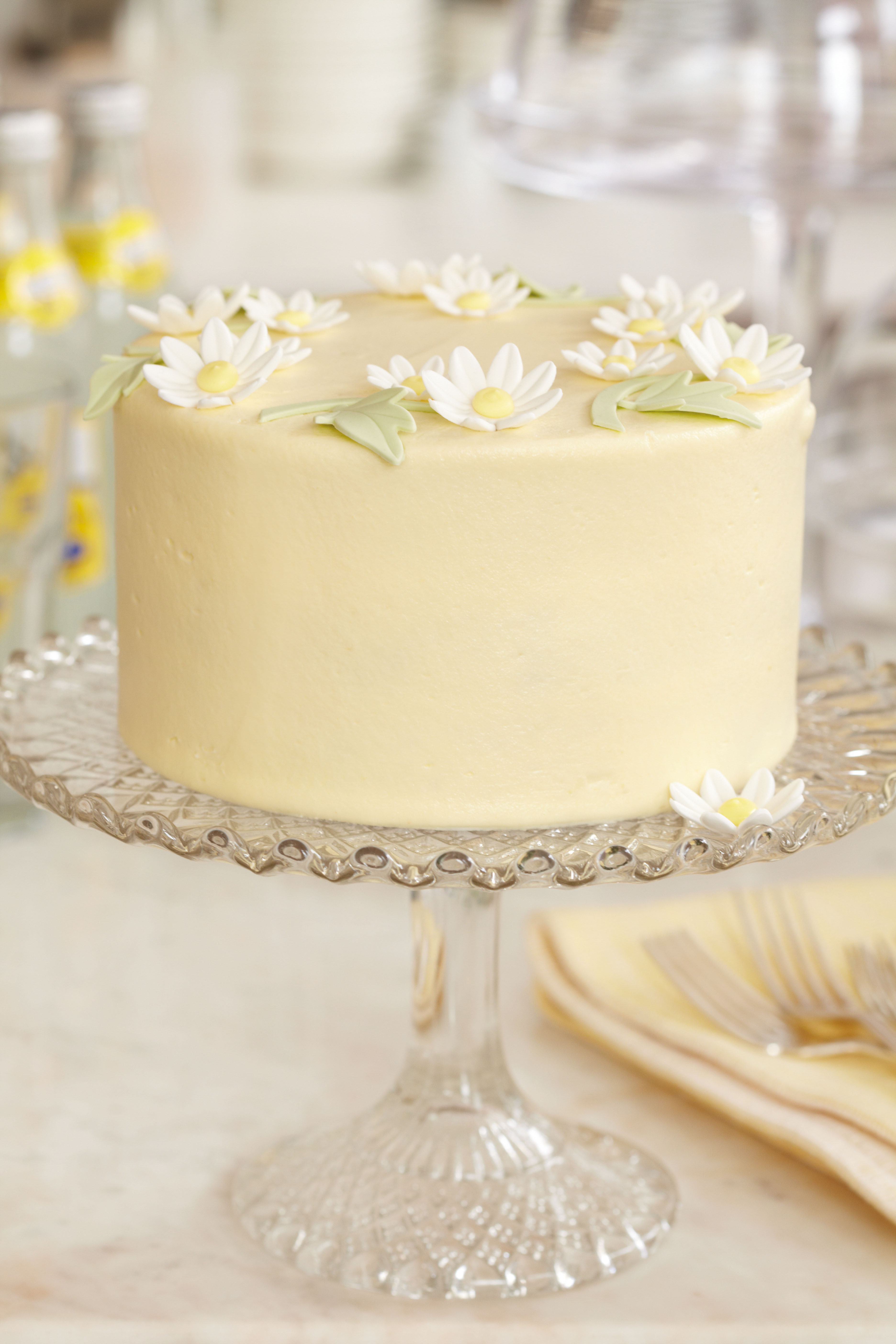 Lemon Wedding Cakes  Lemon Wedding Cake Recipe
