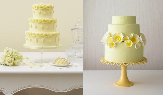 Lemon Wedding Cakes  Lemon Wedding Cakes – A Slice of Summer – Cake Geek Magazine
