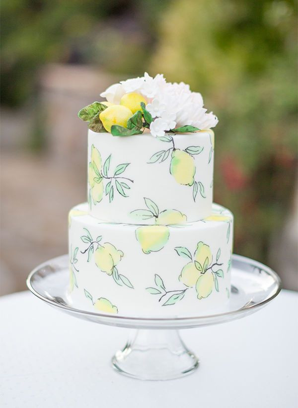 Lemon Wedding Cakes  25 best ideas about Lemon wedding cakes on Pinterest