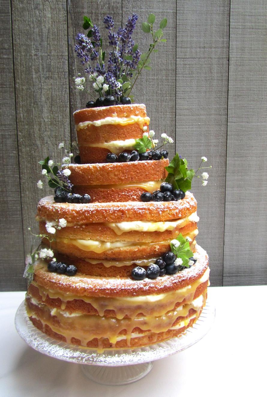 Lemon Wedding Cakes  Lemon and Lavender wedding cake