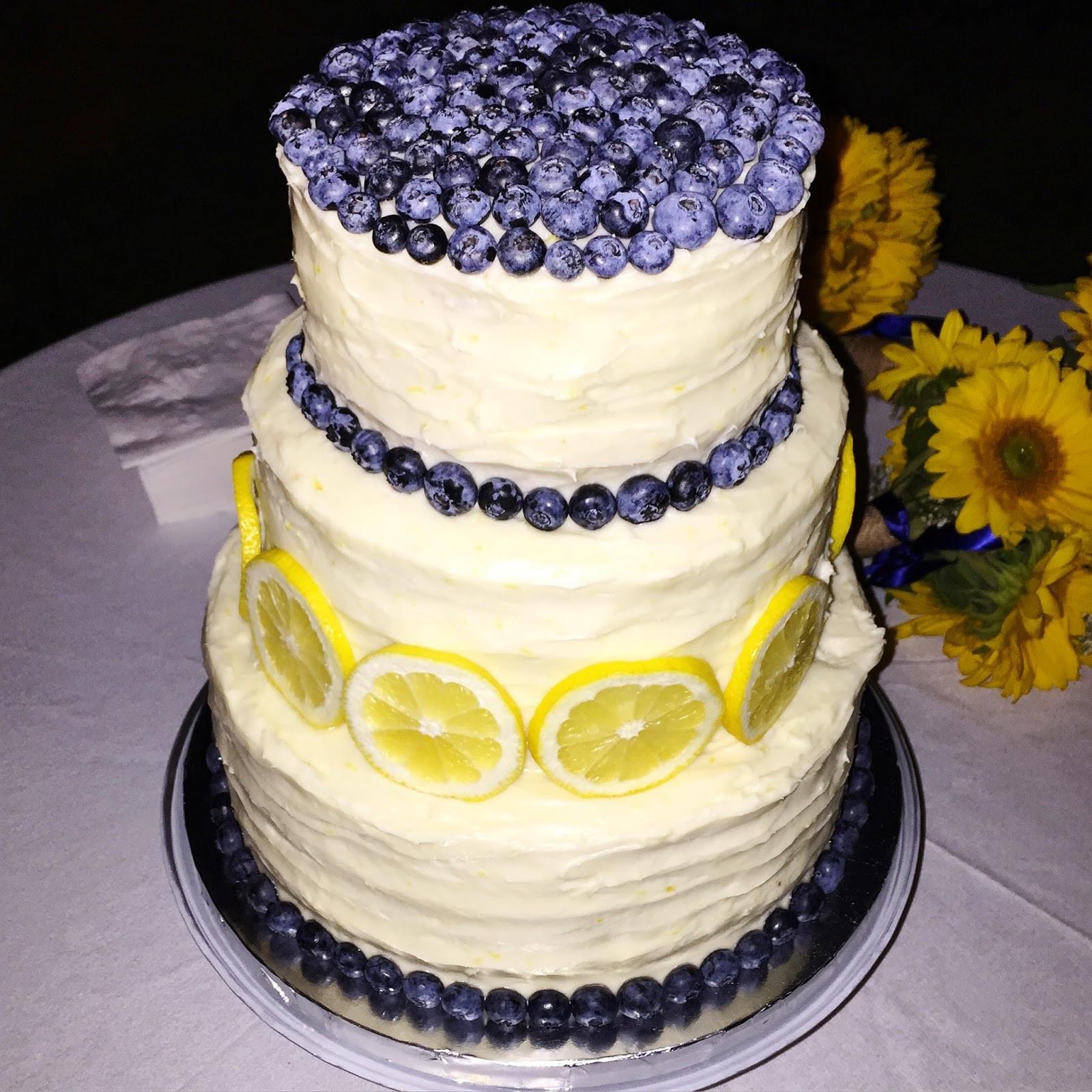 Lemon Wedding Cakes  Whisking Through Life Lemon Blueberry Cake with Lemon