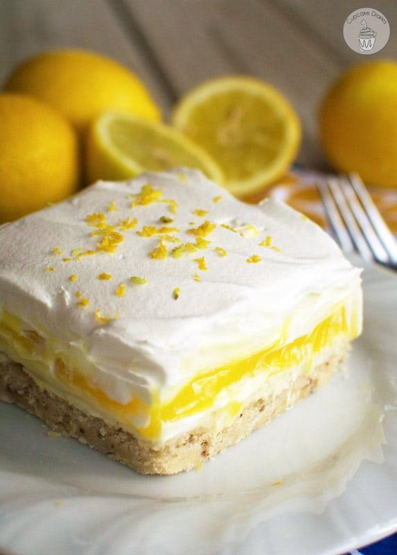 Light Desserts For Summer  Lemon Lush Dessert