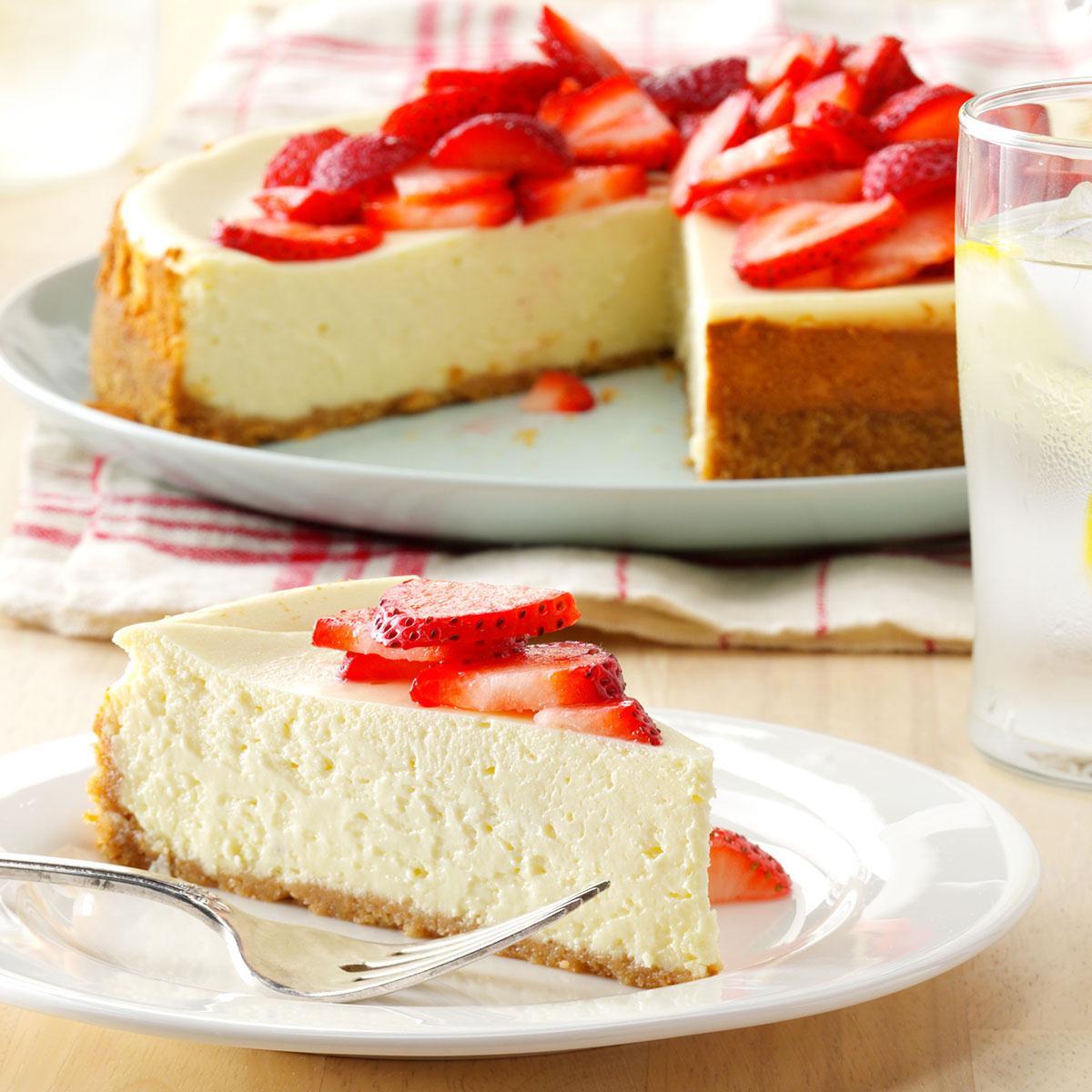 Light Desserts Recipes Healthy  Light Cheesecake Recipe