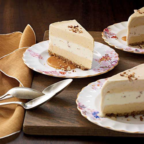 Light Desserts Recipes Healthy  Pumpkin Ice Cream Torte 100 Healthy Dessert Ideas