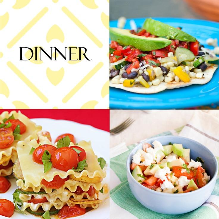 Light Dinner Ideas For Summer  Light Dinner Ideas Summer fun