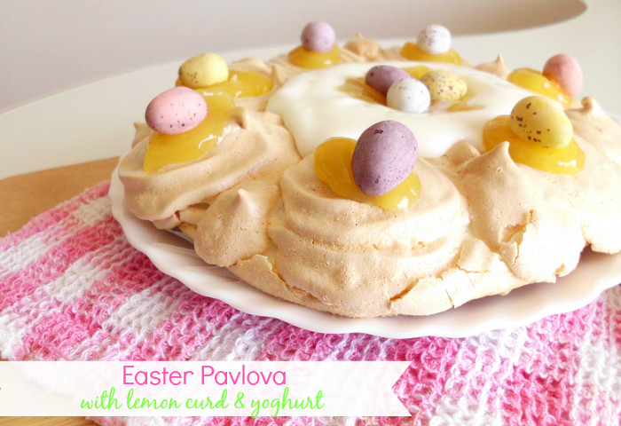 Light Easter Desserts  Recipe for Easter Pavlova with Lemon Curd & Yoghurt
