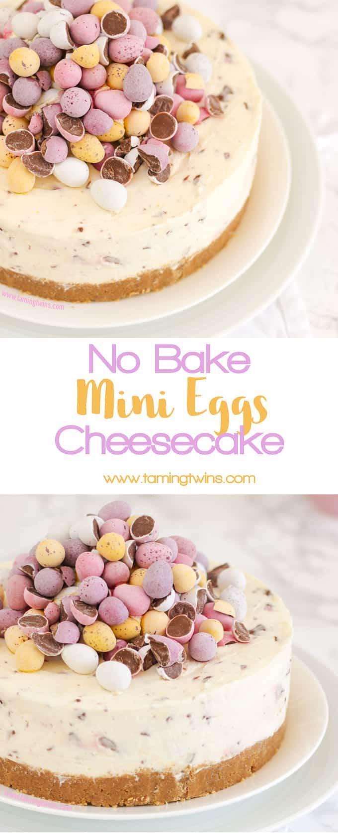 Light Easter Desserts  No Bake Mini Egg Cheesecake THE Easter Recipe Taming