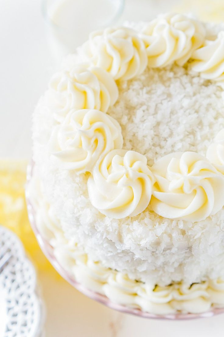 Light Easter Desserts  This Classic Coconut Cake is the perfect Easter dessert