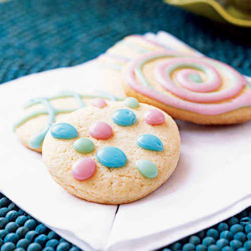 Light Easter Desserts  Easter Egg Cookies Our Best Easter Desserts Cooking Light