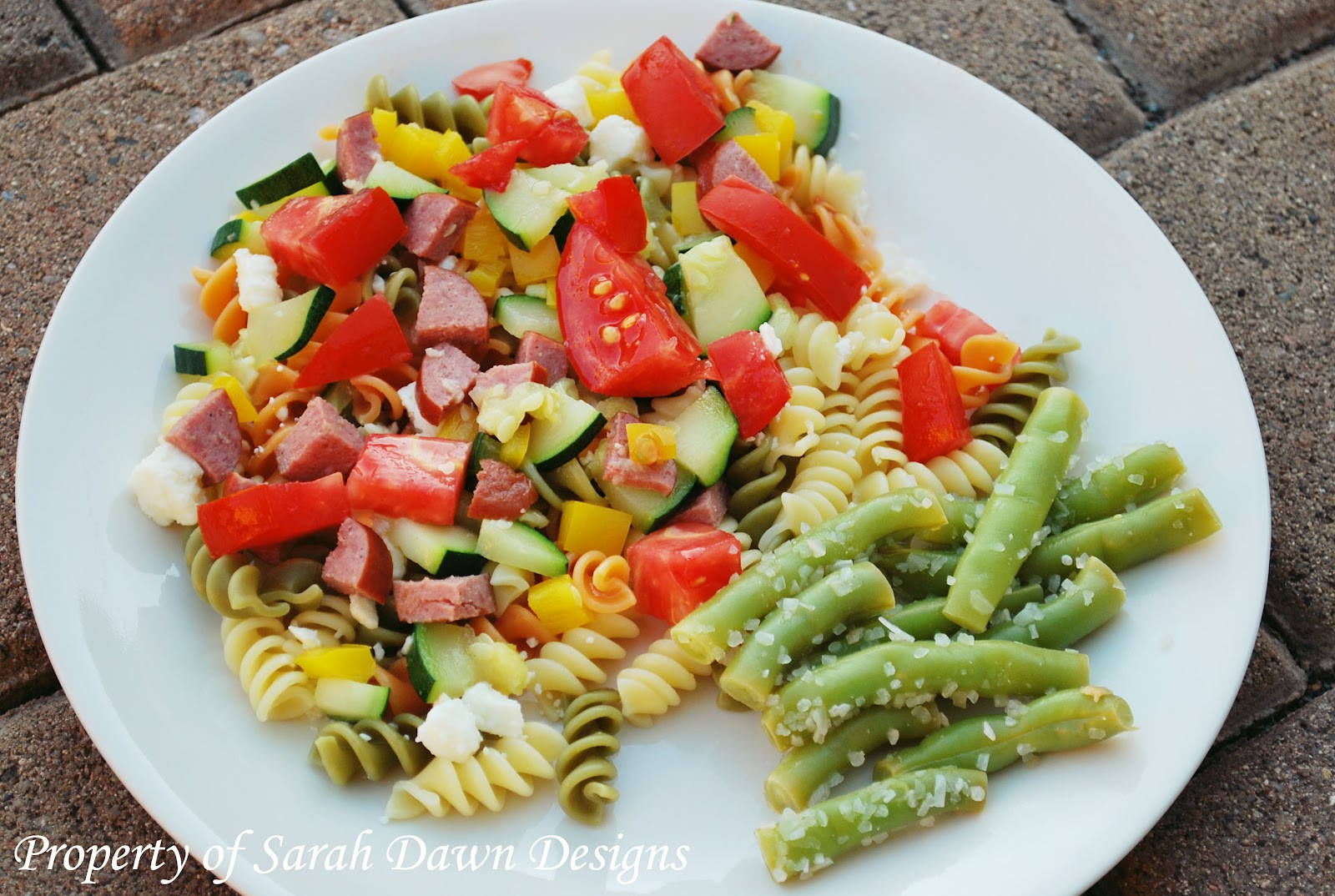 Light Healthy Dinner  Sarah Dawn Designs 20 Minute Meals Light and Healthy Pasta