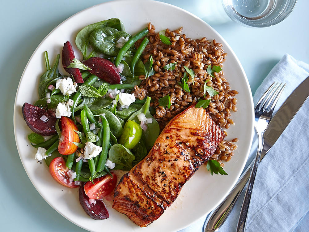 Light Healthy Dinner  Seven Principles of Clean Eating Cooking Light