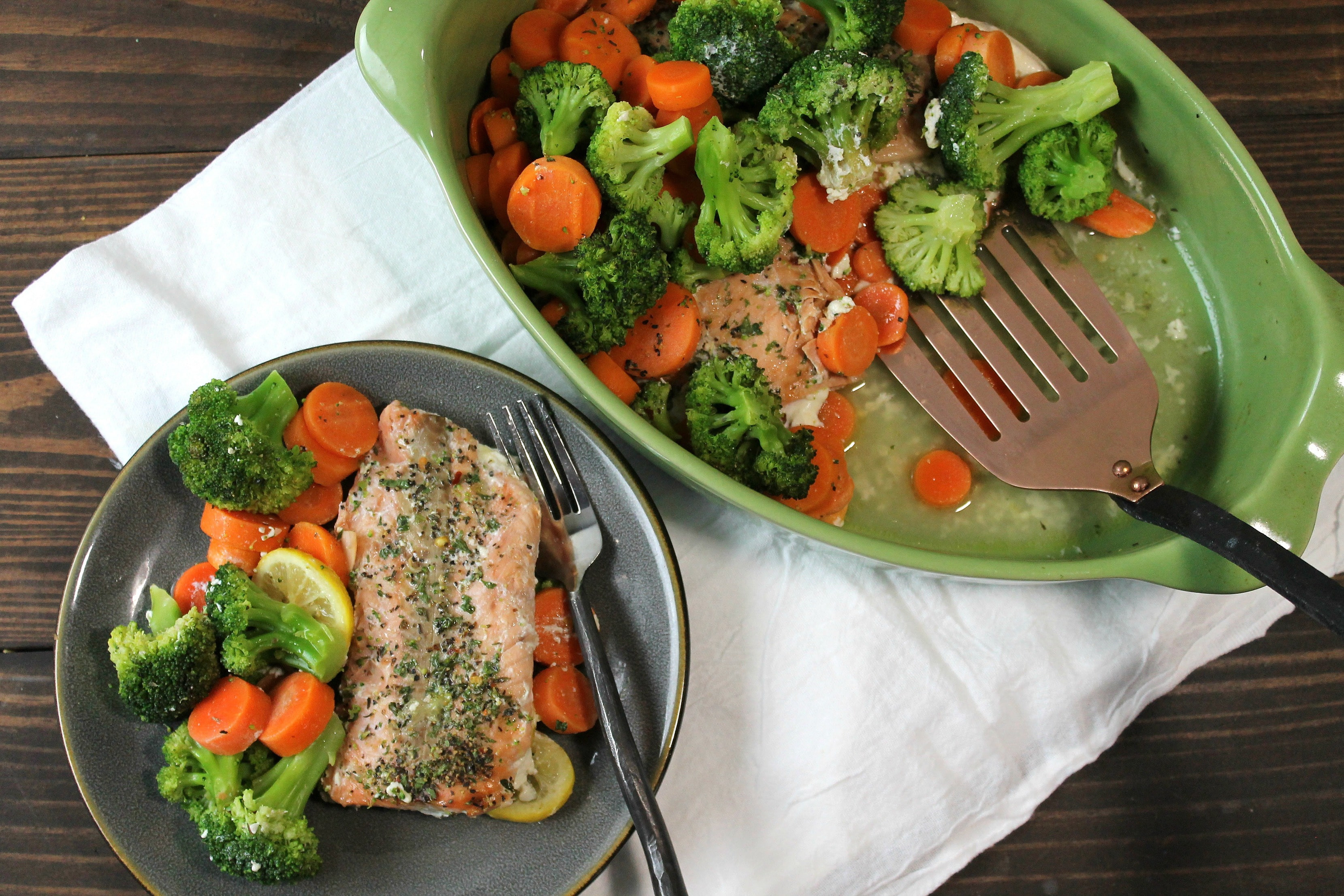 Light Healthy Dinners  Light and Healthy Salmon Dinner 5 Dinners In 1 Hour