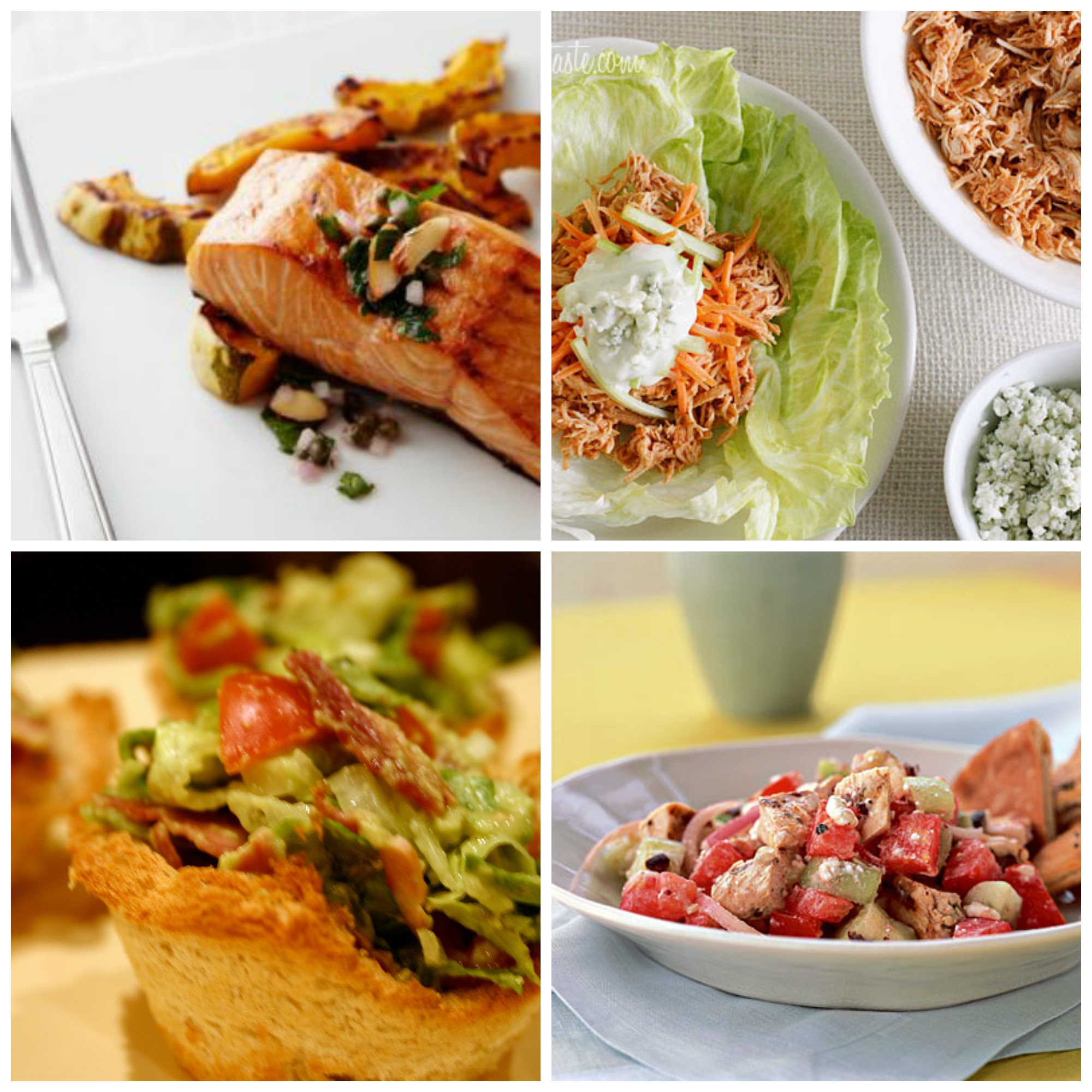 Light Healthy Dinners  Healthy and light weeknight dinner ideas