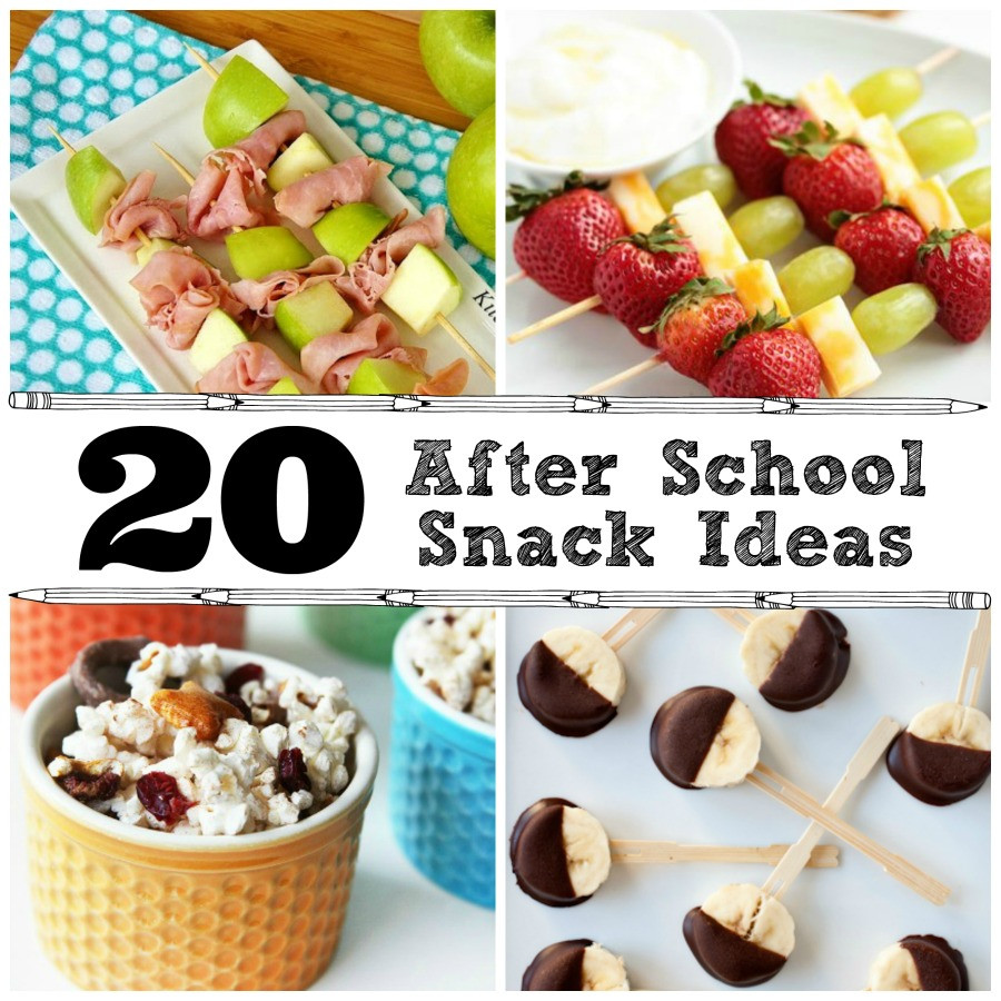 Light Healthy Snacks  20 After School Snack Ideas The Crafted Sparrow