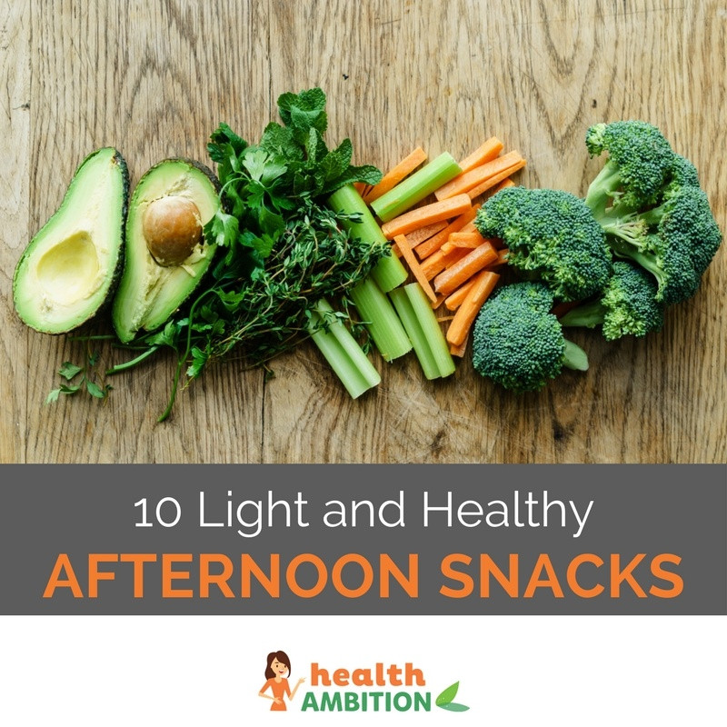 Light Healthy Snacks  10 Light and Healthy Afternoon Snacks Health Ambition