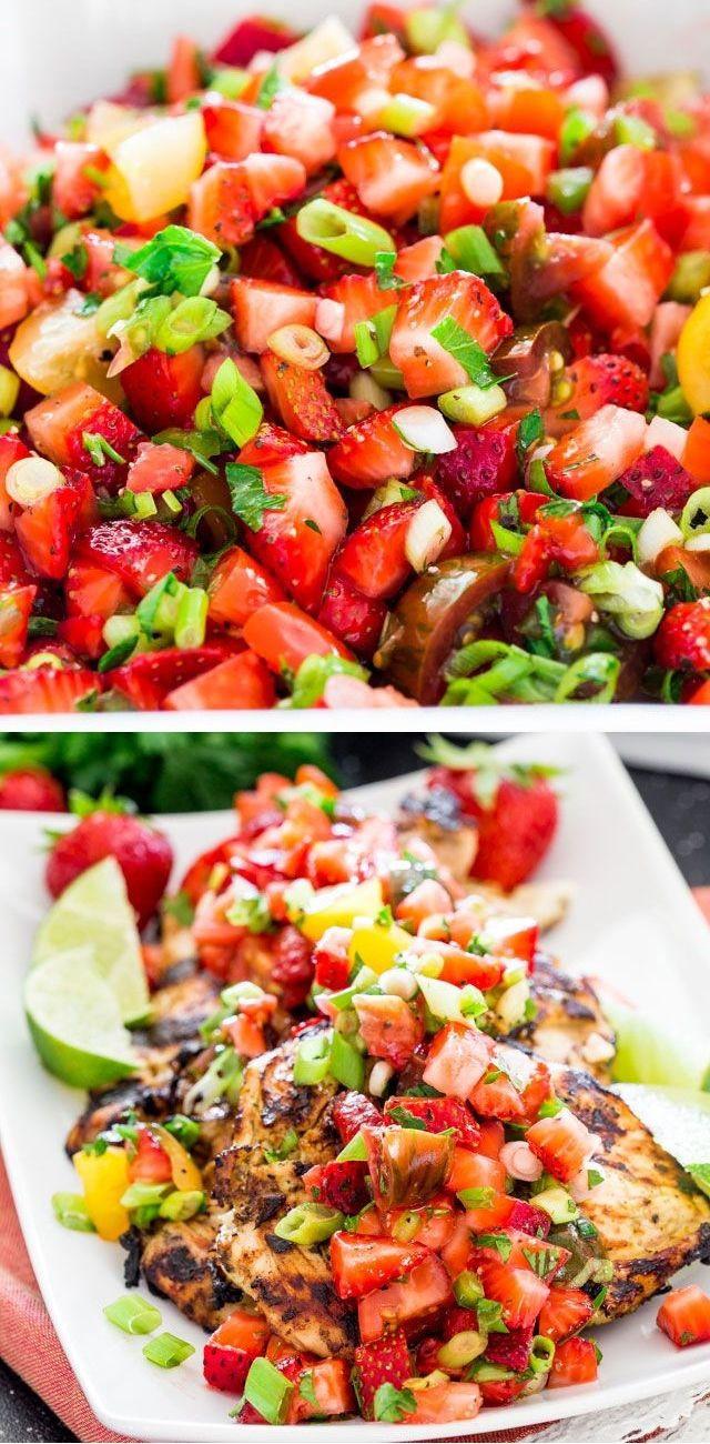 Light Summer Dinners Recipes  Light easy summer dinner recipes Food easy recipes