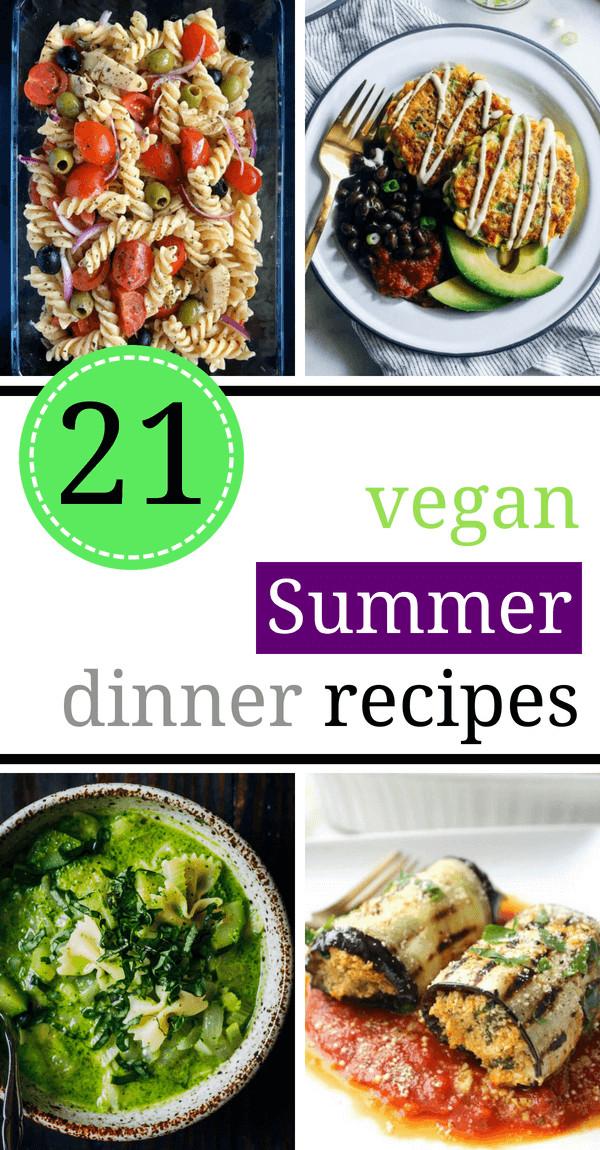 Light Summer Dinners Recipes  21 Light Vegan Summer Dinner Recipes for Hot Days