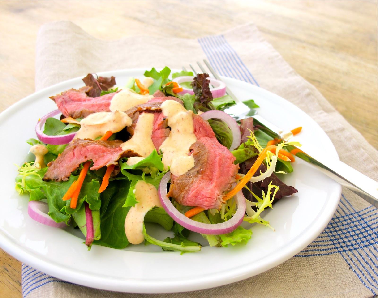 Light Summertime Dinners  Jenny Steffens Hobick Chipotle Grilled Steak Salad