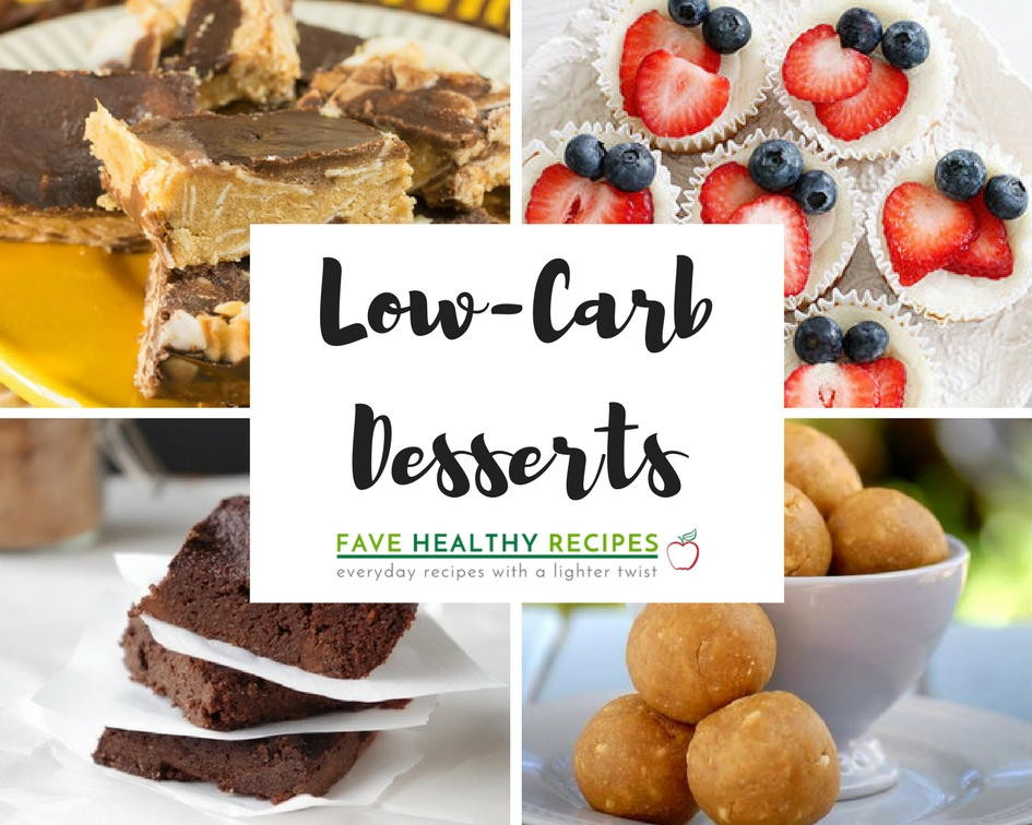 List Of Healthy Desserts  13 Low Carb Desserts Our Favorite Simple Healthy Recipes