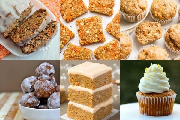 List Of Healthy Desserts  The Great Big List of Carrot Dessert Recipes • Sarahs Bake