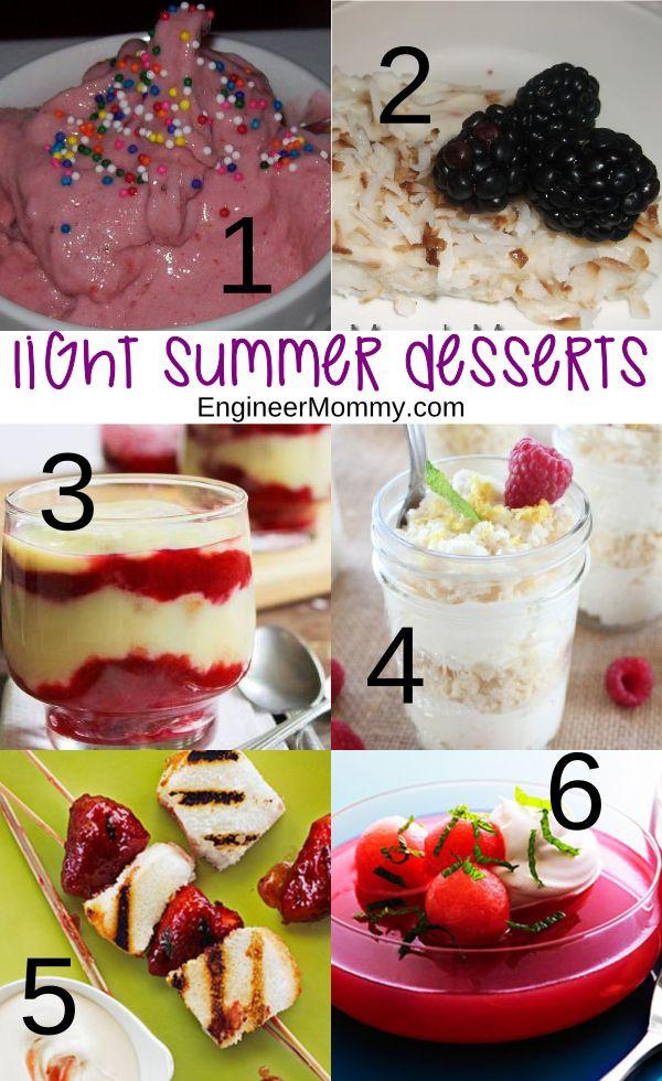 Lite Summer Desserts  Best 25 Light summer desserts ideas on Pinterest