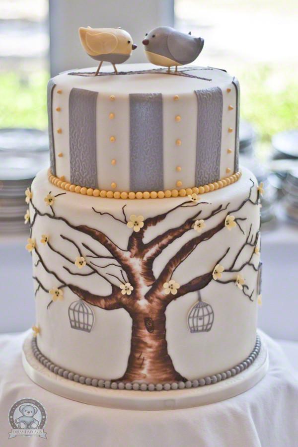 Love Birds Wedding Cakes  Love Birds Wedding Cake from Gainesville FL