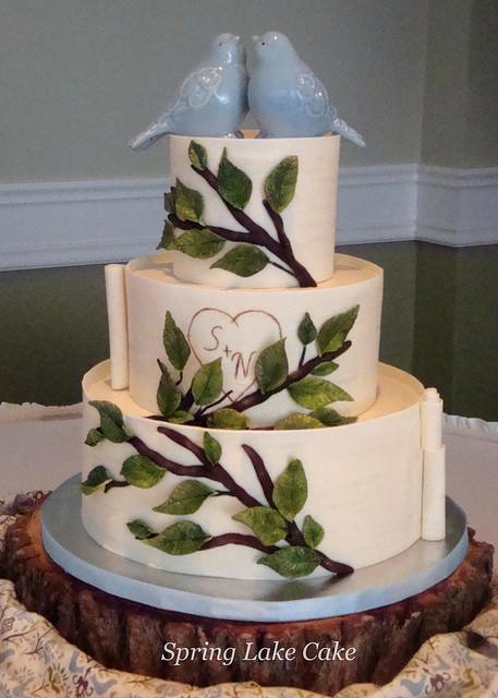 Love Birds Wedding Cakes  Love Birds Wedding Cakes