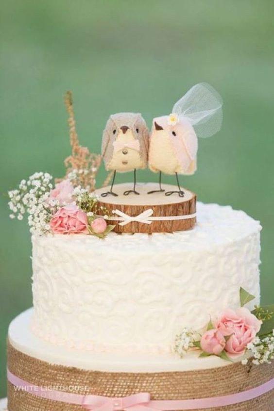 Love Birds Wedding Cakes  25 LOVE Birds Wedding Ideas You'll Love – Page 3 – Hi Miss